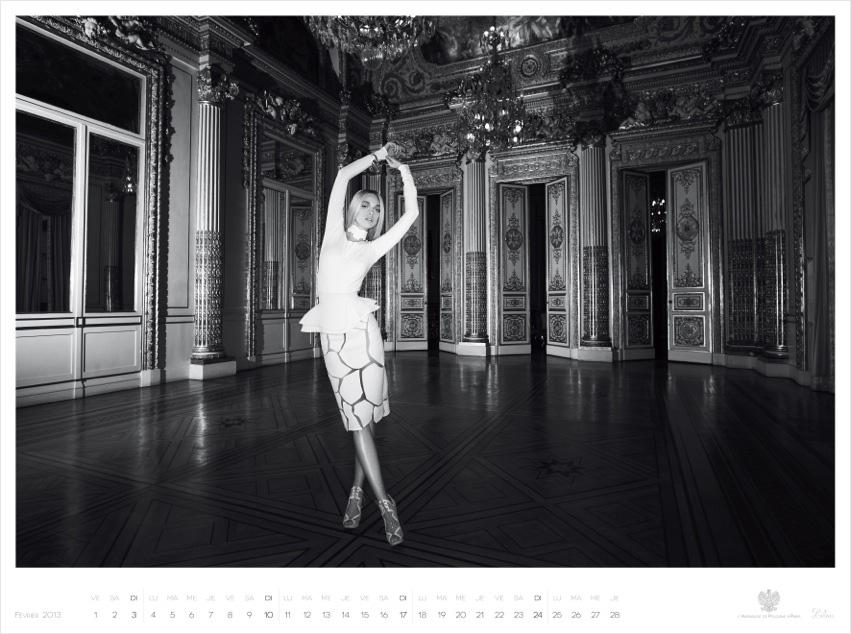 *Piotr Stoklosa 鍾情洛可可:拍攝系列 2013 Polish Embassy in Paris年曆! 8