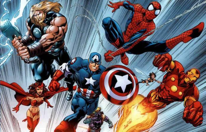 Spiderman, Capitán América, Iron Man, y muchos más