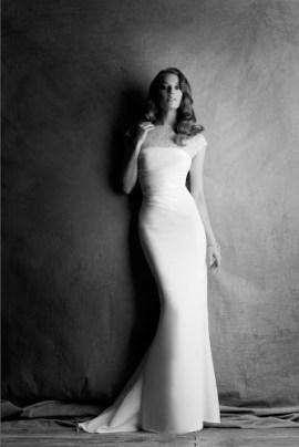abiti da sposa dal taglio dritto Cymbeline Paris 2014