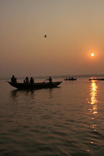 Sunrise Ganges ©christine kaaloa