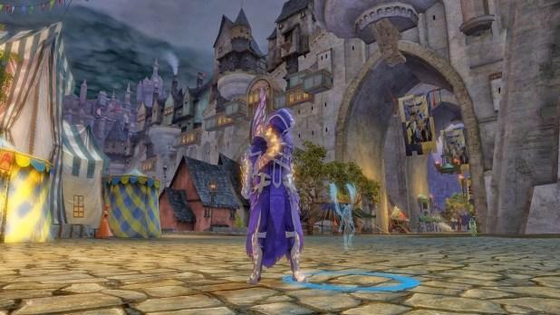 Mini Holographic Risen Knight