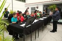 La Orquesta de Campanas del Conservatorio de Música Simón Bolívar actuó dirigida por Agnison Rodríguez