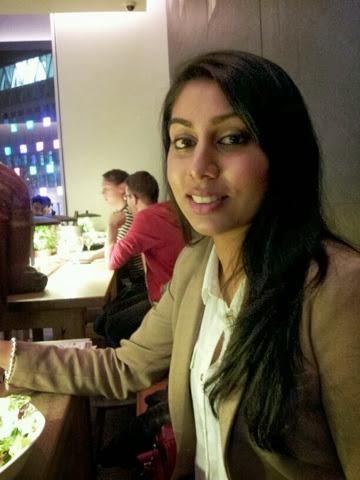 Desi girl's blog at Vapiano London
