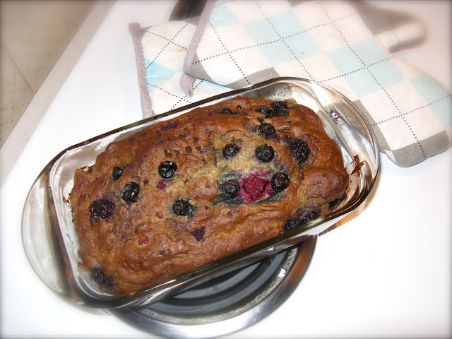 gluten free berry bread