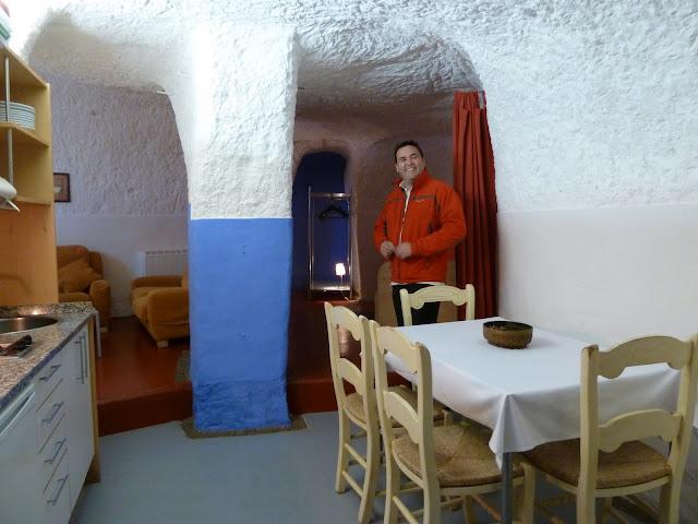 La cocina de la cueva