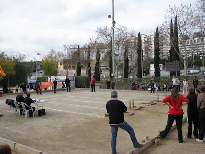 Un partit de bitlles catalanes