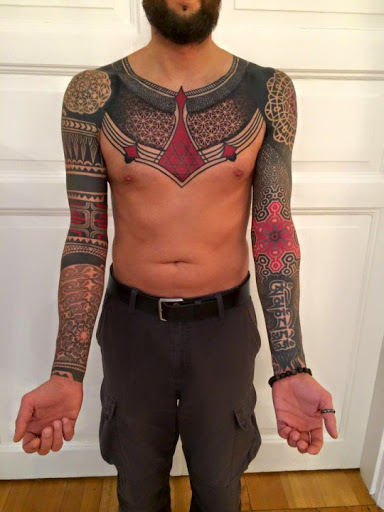 55 awesome sleeve tattoos ideas and designs tattoos me for How to blend tattoos into a sleeve