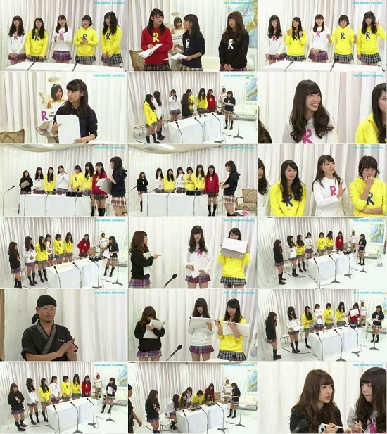 (TV-Variety)(720p) YNN [NMB48チャンネル] りぃちゃん24時間テレビ2014「なっつラーメンゲーム」 150409