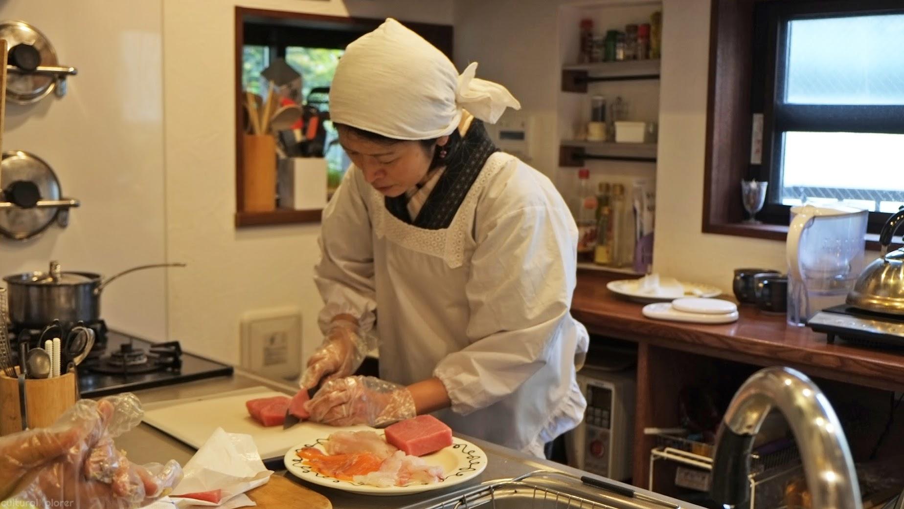 Tunafish slicing Tokyo