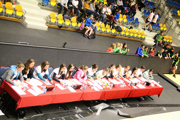 de jury BK rope skipping op Schiervelde Roeselare