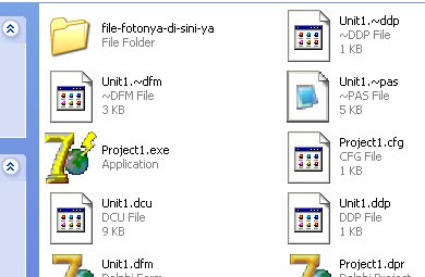 Folder alternatif penyimpanan gambar