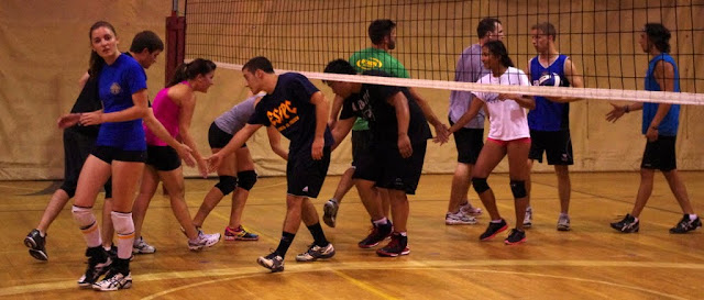 Ottawa Volley Sixes summer mixed volleyball league