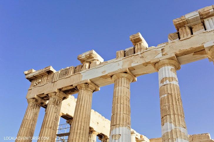 The Parthenon Athens Greece.