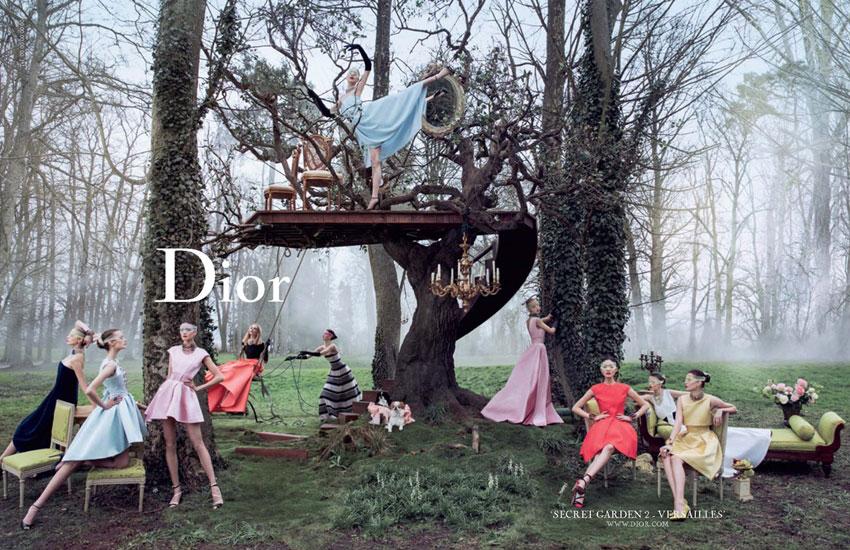 *Dior的秘密花園 Dior Secret Garden:凡爾賽精靈搖晃著鞦韆! 3