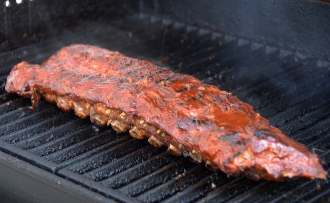 Baked and Grilled Ribs