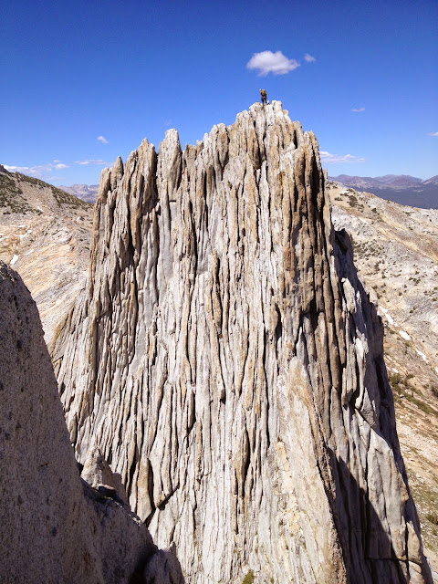 On top of South Tower of Matthes Crest