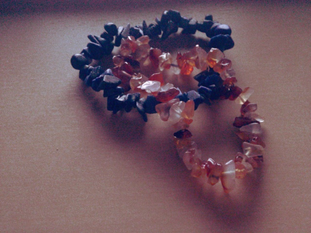 Sodalite and Red Agate!