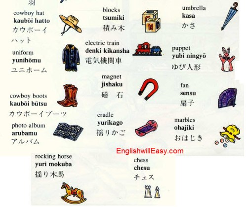 japanese english picture dictionary online