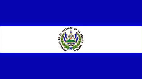Resultado de imagen para bandera el salvador