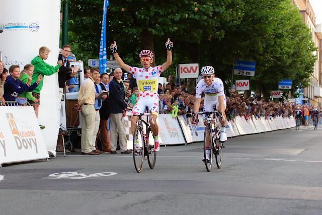 Rafal Majka wint voor Rui Costa