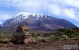 Kilimanjaro's smaller peak