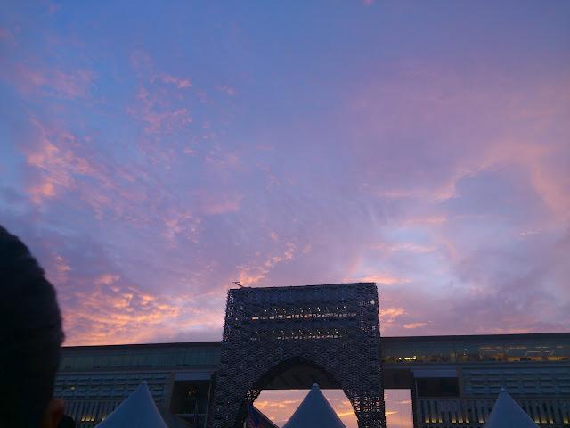 Sunset over Putrajaya