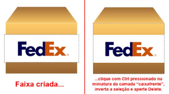 etiqueta da caixa