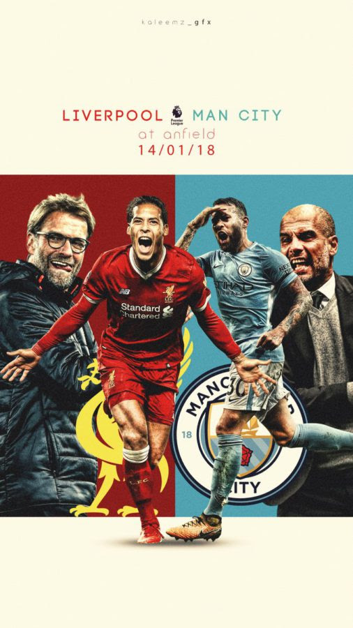 liverpool vs manchester city poster