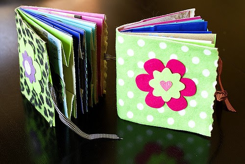 Portland Peeps Mini Paper Bag Scrapbooks