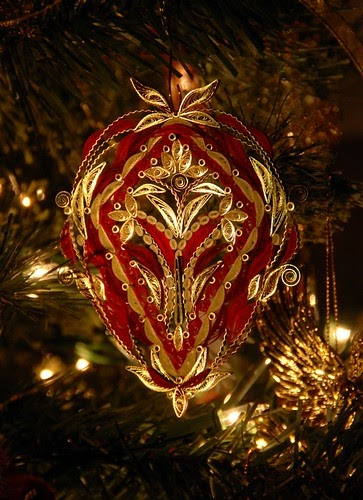Quilled Christmas Ornaments And Mandalas