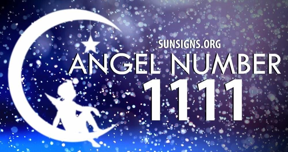 天使數字 1111 ANGEL NUMBER - 高靈訊息