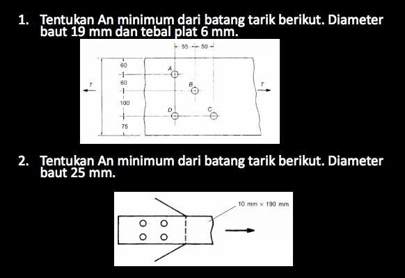 Iii batang tarik a elemen. Contoh Soal Struktur Baja 1 Dan Penyelesaiannya Berbagai Struktur