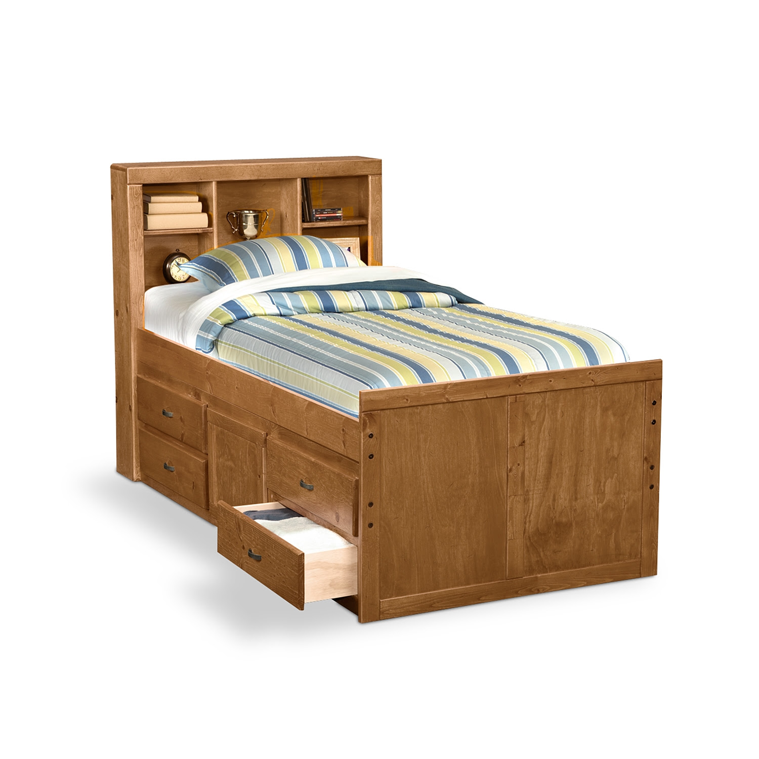 Twin Size Platform Bed With Drawers Plans Wood Working Projects