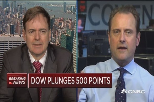 EndrTimes  Dow plummets 666 points  capping worst week in 2 years