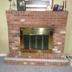 Easy Brick Fireplace Makeovers Blog Daisad Mais