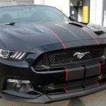 Ford Mustang Black Matte Ford Mustang 2019