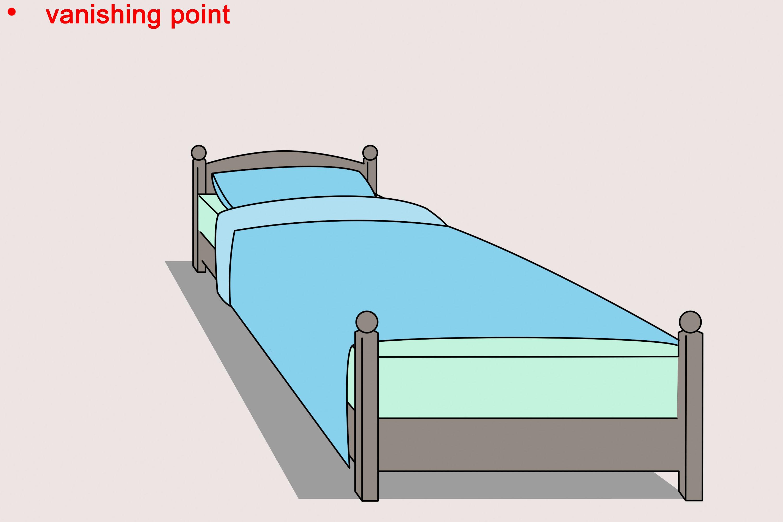 simple bedroom drawing easy home