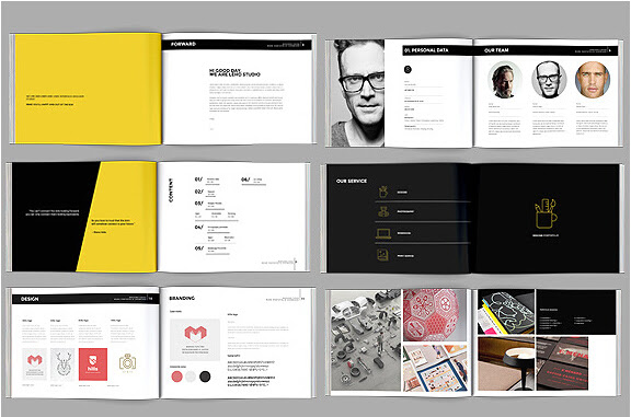 These are instantly downloadable, printable, and easily editable. Graphic Design Portfolio Pdf Template Free Download