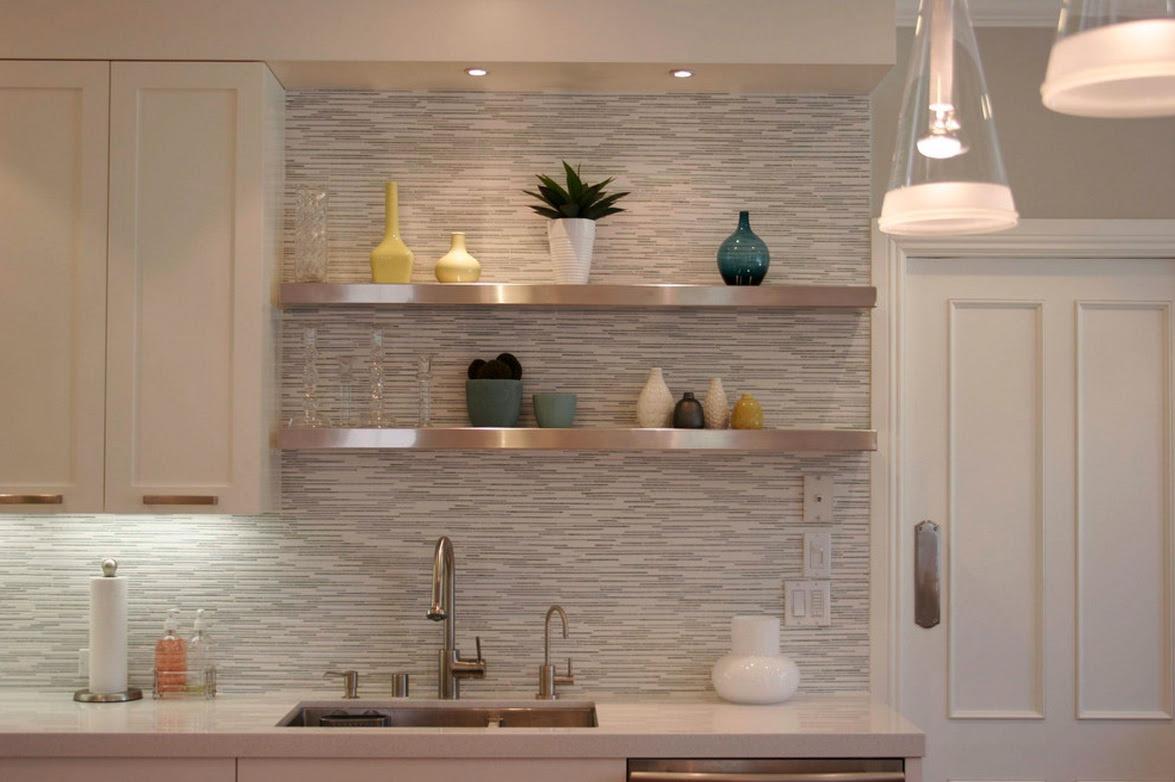 modern small house kitchen tiles design
