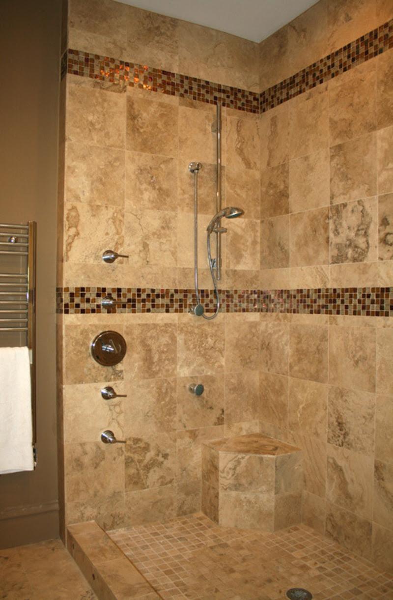 small bathroom shower tile ideas large