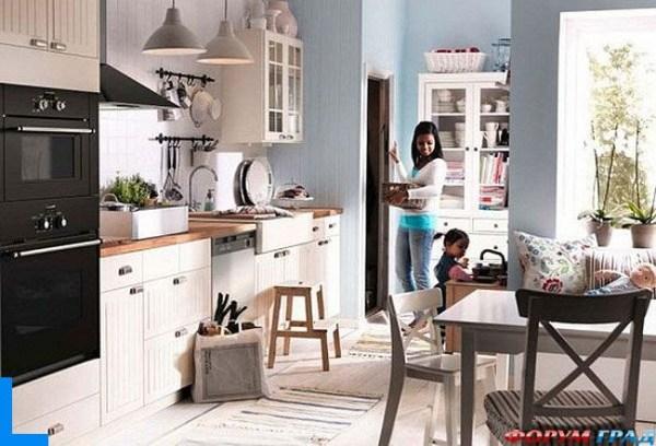 Мебель: Фото кухни икеа форум