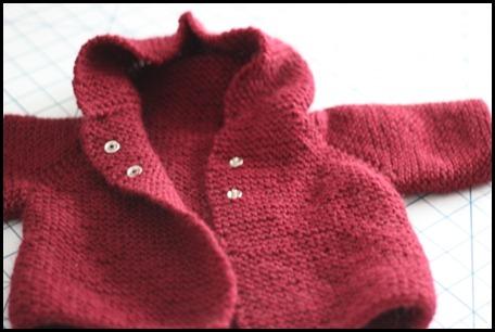 garter baby coat with hood 3