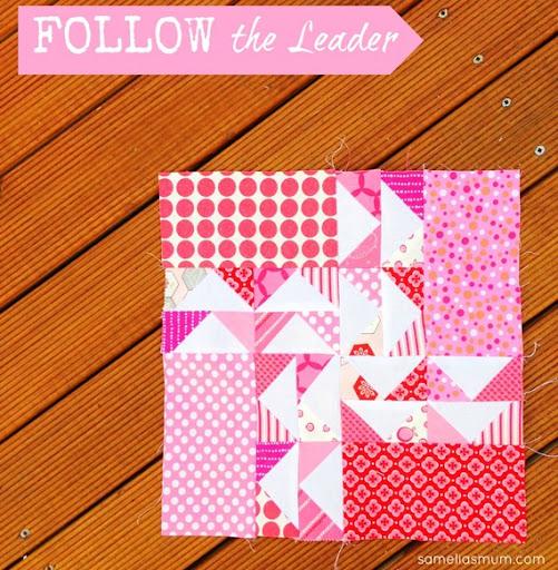 Follow Leader Modern Quilt Pattern