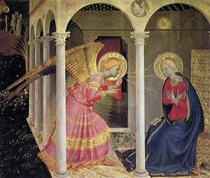 São Gabriel - Anunciação - Beato Angélico