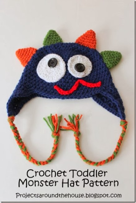Crochet Toddler Monster Hat Pattern Renewed Claimed Path