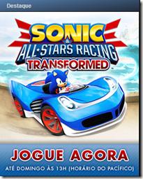 Sonic All Stars Racing Transformed: Gratuito para jogar neste Fim de Semana