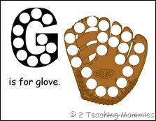 G is for Glove
