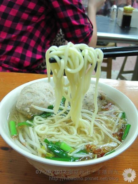 寧夏夜市, 台北美食, 雙連站美食, 主播貢丸, 台北小吃, 夜市小吃IMG_1830