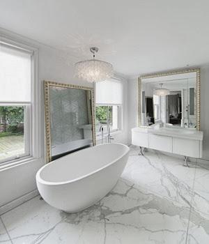 baño-de-lujo-bañera-ovalada