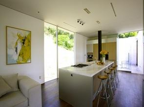 cocina-minimalista-Residencia-Oakpass